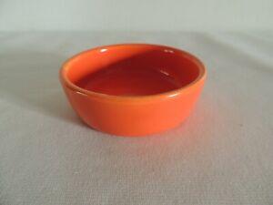Vintage FIESTA Red Round Center Relish Tray Insert HLC Original Period