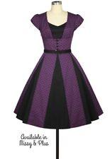 Retro 50s Rockabilly Dress Missy Plus Size 4XL