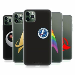 OFFICIAL STAR TREK DISCOVERY BADGES SOFT GEL CASE FOR APPLE iPHONE PHONES