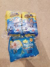Huggies Little Swimmers & Aldi Mamia Natation Pantalon Couches Taille 2-3 X29 couches