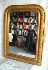 Spiegel Jugendstil Frankreich Holz gold Blumen Wandspiegel art nouveau mirror