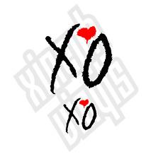 The Weeknd XO Vinyl Decal Sticker Car Window Optional Weekend Drake ipad