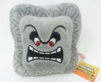 "Super Mario Bros. World 6"" Thwomp Dossun Pillow Plush Toy Cushion Nintendo Doll"