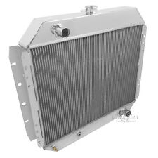 Champion 3 Row All Aluminum Radiator For 1968 - 79 Ford w Chevy Conv Trucks