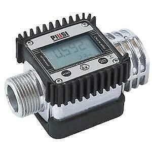 PIUSI K24A Flow Meter - Metal Body