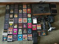 ATARI 2600 Untested Video Game COLLECTION. 49 Games - See Description on Cond.