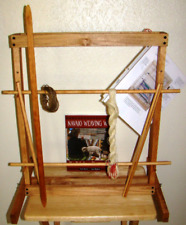 Handmade Navajo Style Weaving Loom ~Complete Kit~Easy to Learn Instruction Book!