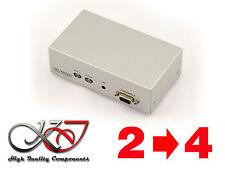 SWITCH + SPLITTER (MATRIX) VGA - 350 MHz - 2 SOURCES VERS 4 SORTIES