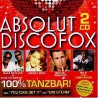 ABSOLUT DISCOFOX 2 CD NEW+
