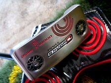"""Tour Issue Tour ID BLK Shaft O-Works Silver Tour DW Double Wide 34"""" Putter HCI"""