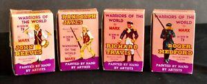 "MARX WARRIORS OF THE WORLD -4 FIGURES ""REVOLUTIONARY WAR"" SOLDIER SET"