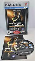 Tom Clancy's Splinter Cell: Pandora Tomorrow Sony PlayStation 2 PS2 PAL TESTED
