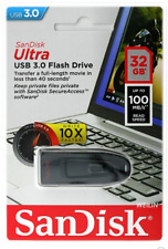 Sandisk 32GB Ultra USB 3.0 Flash Drive Backup Pen PC Memory Stick 100 MB/s NEW