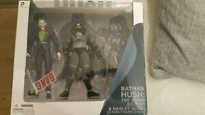 DC Comics Hush Batman & Joker x 2 Figures With Box (Harley Quinn Not Included)