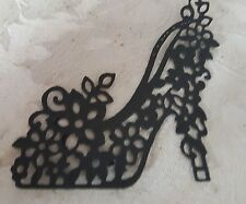 **** GLAMOROUS SHOE DIE CUT **** embellishments for card making or scrapbooking