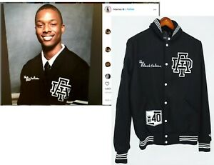 Harrison Barnes Personal Adidas Basketball NBA Varsity Jacket 2012 Draft Warrior
