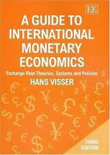 A Guide To International Monetary Economics: Exchange Rate Theories,-ExLibrary