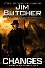 Jim Butcher - Changes - The Dresden Files - HC w/DJ 2010