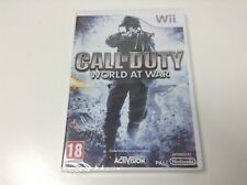 CALL OF DUTY WORLD AT WAR . Pal España... Envio Certificado ... Paypal