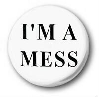 1 inch Novelty Cute I LOVE JESUS 25mm Button Badge
