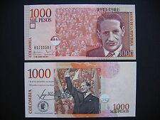 Colombia 1000 pesos 11.6.2011 (p456o) UNC