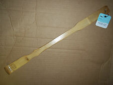 """20"""" Bamboo Wooden Itch Therapeutic Back Scratcher Long Reach"""