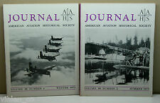 1973 AAHS AMERICAN AVIATION HISTORICAL SOCIETY JOURNAL magazine lot AIRPLANE 2