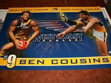 LARGE PRINT PERSONALLY SIGNED BY BEN COUSINS