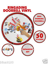 Disney Planes Doorbell Vinyl 40 Wall Stickers Room Decor