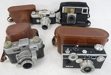 Lot of 4 Vintage Cameras Argus Cintar Lens Kodak Anastar Tosicor Perma Matic 618