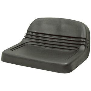 BLACK VINYL MOWER SEAT  1-2682