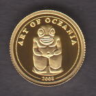 Palau. 2008 Gold 1 Dollar. Art of Oceania. 0.5gram .999 gold.. Proof