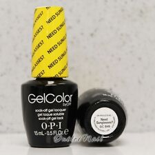 OPI GelColor Brights Collection GC B46 NEED SUNGLASSES? 15 mL UV LED Gel Polish