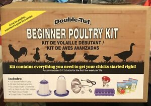 Double Tough DTBPKIT 6pc Beginner Poultry Kit New In Box