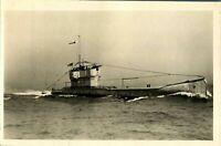 HM Submarine L 54 RPPC postcard real photograph Royal Navy military antique