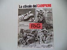 advertising Pubblicità 1975 RG e OSSA MAR 350 TRIAL/TOSCO/BRISSONI/GRITTI/PILERI