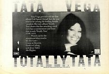 21/5/1977Pg22 Album Advert 7x10 Tata Vega, Full Speed