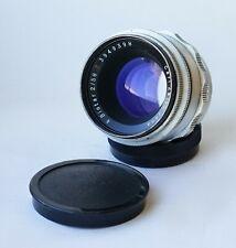 1955! Carl Zeiss Jena BIOTAR Red T Lens f/2 58mm Silver 10-BLADES version M42