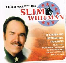 SLIM WHITMAN CD - A Closer Walk With Thee (Country Gospel)