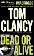 "Tom Clancy's ""Dead or Alive"" 17 Unabridged Audio CD Discs NEW 978-1-4692-4904-9"
