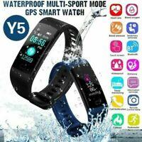 Fitness Armband Uhr Pulsmesser Wasserdicht Aktivitätstracker Sport Schrittzähler