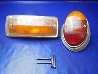 4x Schraube VW Käfer Rücklichtglas Zweikammer Rücklicht T2a Bus Blinkerglas