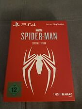Marvel's Spider-Man - Special Edition Playstation 4 Spiel *Steelbook OVP*