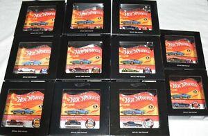 "Hot Wheels Redline Original 16 Replica 1968 Package Lot ""MIB"""