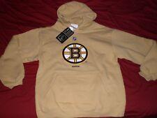 REEBOK FACEOFF COLLECTION BOSTON BRUINS NHL Hooded Sweatshirt YOUTH LG(14/16)NWT