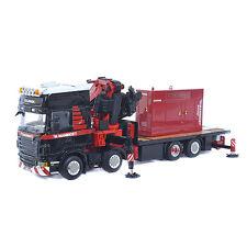 WSI Mammoet Scania R480 8x2 + Generator + Fassi 1100 Crane Die-cast 1/50 MIB