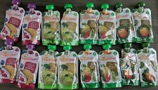 Happy Baby, Stage 2, Organic Baby Food, 16 Pouches - 4 Various Packs