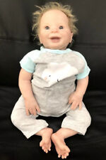 Beautiful Reborn baby boy 22 inches tall very detailed