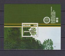 S18088) New Zealand MNH Neu 1988 Trees S/S