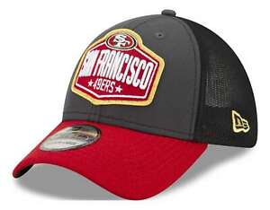 New Era - NFL San Francisco 49ers 2021 Draft 39Thirty Trucker Stretch Cap - Mehr
